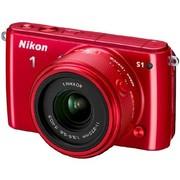 尼康 S1 微单套机 红色(11-27.5mm f/3.5-5.6)