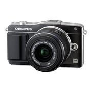 奥林巴斯 E-PM2 微单套机 黑色(M.ZUIKO DIGITAL 14-42mm f/3.5-5.6 II R 镜头)