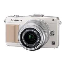 奥林巴斯 E-PM2 微单套机 白色(M.ZUIKO DIGITAL 14-42mm f/3.5-5.6 II R 镜头)产品图片主图