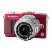 奥林巴斯 E-PM2 微单套机 红色(M.ZUIKO DIGITAL 14-42mm f/3.5-5.6 II R 镜头)