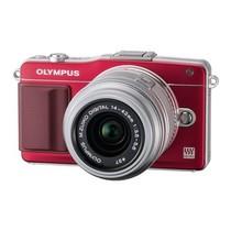 奥林巴斯 E-PM2 微单套机 红色(M.ZUIKO DIGITAL 14-42mm f/3.5-5.6 II R 镜头)产品图片主图