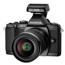 奥林巴斯 E-M5 微单套机 黑色(M.ZUIKO DIGITAL ED 12-50mm f/3.5-6.3 EZ 镜头)产品图片主图