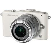 奥林巴斯 E-PM1 微单套机 白色(M.ZUIKO DIGITAL 14-42mm f/3.5-5.6 II R 镜头)