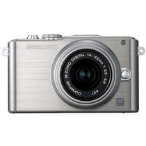 奥林巴斯 E-PL3 微单套机 银色(M.ZUIKO DIGITAL 17mm f/2.8 镜头)产品图片主图