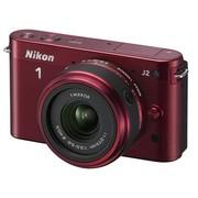 尼康 J2 微单套机 红色(11-27.5mm f/3.5-5.6 镜头)