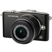奥林巴斯 E-PM1 微单套机 黑色(M.ZUIKO DIGITAL 14-42mm f/3.5-5.6 II R 镜头)