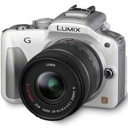 松下 G3 微单套机 白色(LUMIX G VARIO 14-42mm f/3.5-5.6 ASPH. MEGA O.I.S. 镜头)