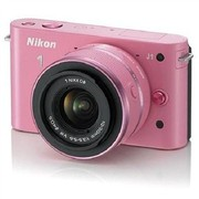 尼康 J1 微单套机 粉色(VR 10-30mm f/3.5-5.6 镜头)