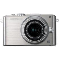 奥林巴斯 E-PL3 微单套机 银色(M.ZUIKO DIGITAL 14-42mm f/3.5-5.6 II R 镜头)产品图片主图
