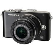 奥林巴斯 E-PL3 微单套机 黑色(M.ZUIKO DIGITAL 14-42mm f/3.5-5.6 II R 镜头)