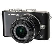 奥林巴斯 E-PL3 微单套机 黑色(M.ZUIKO DIGITAL 14-42mm f/3.5-5.6 II R 镜头)产品图片主图