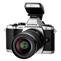 奥林巴斯 E-M5 微单套机 银色(M.ZUIKO DIGITAL ED 12-50mm f/3.5-6.3 EZ 镜头)产品图片主图