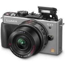 松下 GX1 微单套机 银色(LUMIX G X VARIO PZ 14-42mm f/3.5-5.6 ASPH.POWER O.I.S. 镜头)产品图片主图