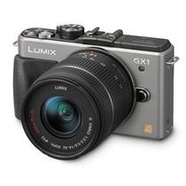 松下 GX1 微单套机 银色(14mm,14mm-42mm)产品图片主图