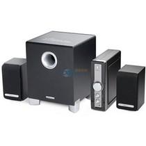 漫步者 X3 声迈系列 2.1声道+独立功放 多媒体音箱 黑色产品图片主图