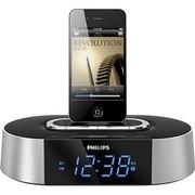 飞利浦 AJ7030D/93 iPod/iPhone专用音乐充电基座家用音响 时钟收音机 银色