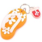 权尚 卡通系列/炫彩小拖鞋 8GB 创意礼品U盘 橙色
