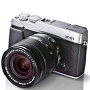 富士 X-E1 旁轴单电套机 银色(XF18-55mmF2.8-4 R LM OIS镜头)