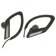 松下 RP-HSC200E iPhone耳机系列运动健将 黑色