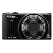 尼康 S9500 数码相机 黑色(1811万像素 3英寸液晶屏 22倍光学变焦 25mm广角)