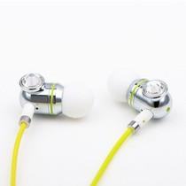 好米亚 好米亚(hoomia)限量版奢华水晶时尚入耳式立体声耳机 Diamond J 银产品图片主图