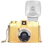乐魔 LOMO Diana F+ 戴安娜 胶片相机 (黄金色 限量版)