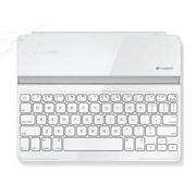 罗技 罗技iPAD 蓝牙键盘白色