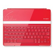罗技 罗技iPAD 蓝牙键盘红色