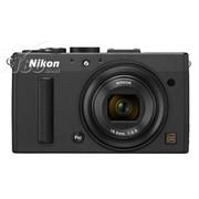 尼康 Coolpix A 数码相机 黑色(1616万像素 3英寸液晶屏 28mm广角)