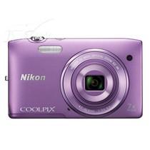 尼康 S3500 数码相机 紫色(2005万像素 2.7英寸屏 7倍光学变焦 26mm广角)产品图片主图