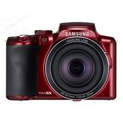 三星 WB2100 数码相机 红色(1638万像素 3英寸液晶屏 35倍光学变焦 25mm广角)
