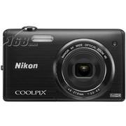 尼康 S5200 数码相机 黑色(1602万像素 3英寸液晶屏 6倍光学变焦 26mm广角)
