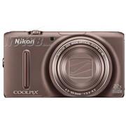 尼康 S9500 数码相机 棕色(1811万像素 3英寸液晶屏 22倍光学变焦 25mm广角)