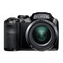 富士 S6850 数码相机 黑色(1620万像素 3英寸液晶屏 30倍光学变焦 24mm广角)产品图片主图