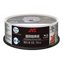 JVC BD-R 档案级蓝光光盘(25片桶装)产品图片主图