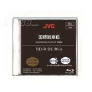 JVC BD-R 档案级 喷墨可打印光盘(单片装)