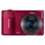 三星 WB800F 数码相机 红色(1630万像素 3英寸触摸液晶屏 21倍光学变焦 23mm广角 WiFi传输)