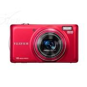 富士 T410 数码相机 红色(1600万像素 3英寸液晶屏 10倍光学变焦 28mm广角)
