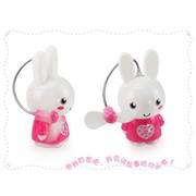 SKG 树语兔子儿童故事机 早教学习机 粉色+风扇+台灯