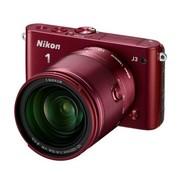 尼康 J3 微单套机 红色(10-100mm f/4-5.6 VR)