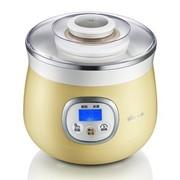 小熊 SNJ-530 微电脑蜜罐米酒酸奶机 陶瓷内胆 1L  淡黄色