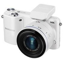 三星 NX2000 微单套机 白色(i-Fn 20-50mm f/3.5-5.6 ED)产品图片主图