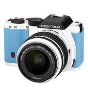 宾得 K-01 单电套机 蓝色(DAL 18-55mm F3.5-5.6 AL 镜头)