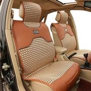 其他 HT丹尼皮冰丝汽车坐垫 新款夏季凉垫通用四季垫座垫 激情红