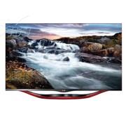 LG 观韵 42LA6800-CA 42英寸无边硬屏3D网络智能LED电视(红色)