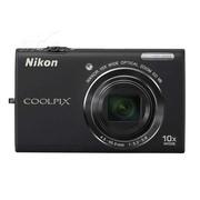 尼康 S6200 数码相机 黑色(1600万像素 2.7英寸液晶屏 10倍光学变焦 25mm广角)