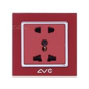 LVC 多功能五孔带保护门插座 LVC6505BY