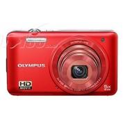 奥林巴斯 D-745 数码相机 红色(1400万像素 3英寸液晶屏 5倍光学变焦 26mm广角)