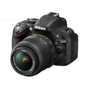 尼康 D5200 单反套机(AF-S DX 18-55mm f/3.5-5.6G VR尼克尔镜头)黑色