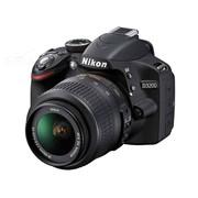 尼康 D3200 单反相机套机(AF-S DX 18-55mm f/3.5-5.6G VR尼克尔镜头) 黑色